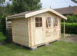 Cabanon En Bois : fabriquer un cabanon de jardin id es de ~ Premium-room.com Idées de Décoration