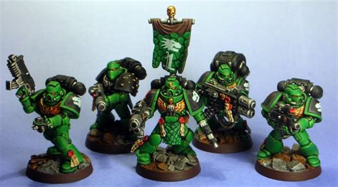 40k Painting: Salamanders - Bell of Lost Souls