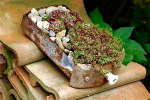 Steine Zum Bepflanzen : bepflanzte objekte vom schrott gartendeko pinterest planting succulents succulents und garden ~ Eleganceandgraceweddings.com Haus und Dekorationen