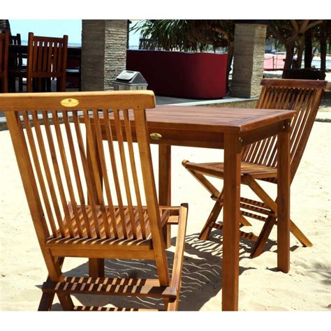 table et chaise de salon table et chaises de jardin en teck huilé salon 2 places wood en stock