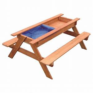 Kids Toddler Wooden Sand & Water Picnic Play Table Buy
