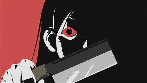 full hd wallpaper manga evil dark girl desktop