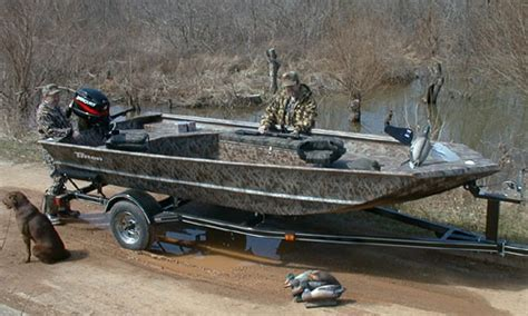 Versatrack Boat Duck Blind by Triton Boats We Take America Fishing