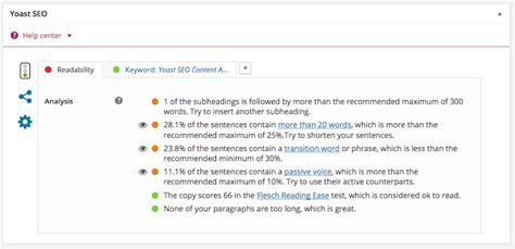 Explain Seo With Exle by Yoast Seo Content Analysis Adds Value To Websites