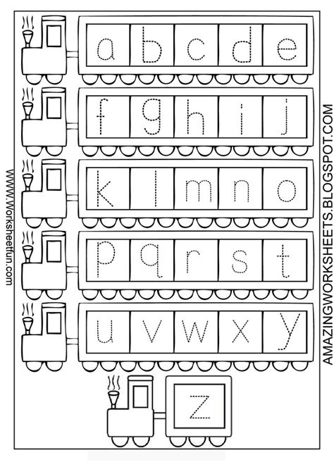preschool alphabet worksheets a z alphabet
