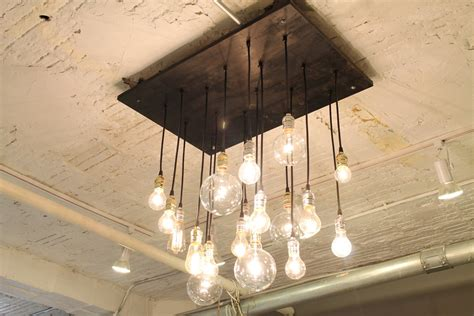 light bulbs for chandeliers 20 unconventional handmade industrial lighting designs you