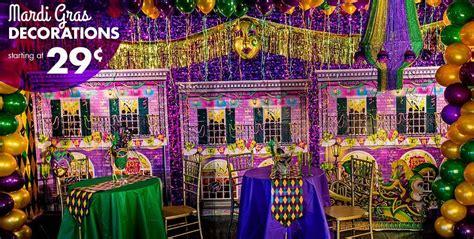 mardi gras decorations  masquerade party ideas