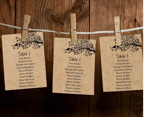 Wedding Table List Template by Wedding Seating Chart Board Template Editable Text Guest