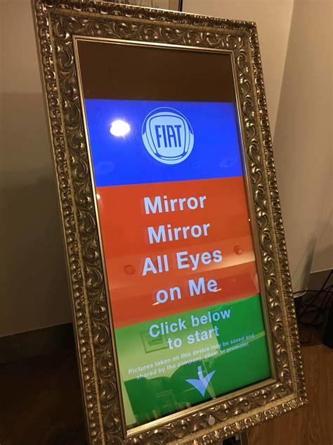 magic selfie mirror photo booth hire kent london essex