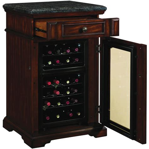 Best Cabinet Wine Cooler by Product Tresanti Amalfi Dual Zone Wine Cabinet And Cooler