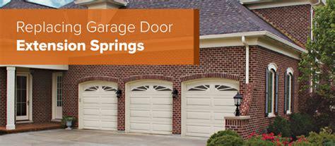 how to replace garage door how to replace garage door extension springs aaron s