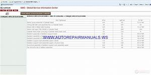 Lexus Rx400h  Mhu38  2007  Gsic Global Service Information
