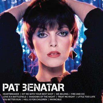 Pat Benatar : Icon CD (2013) - Capitol   OLDIES.com