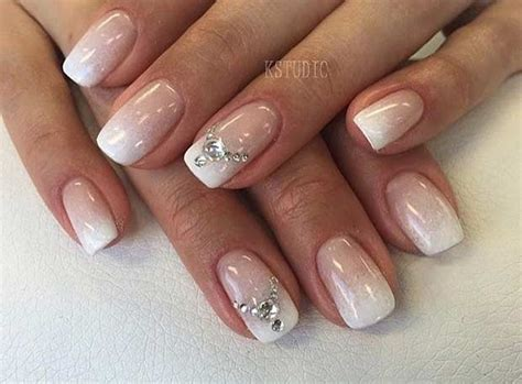 Nail Art For Wedding Ideas : 31 Elegant Wedding Nail Art Designs