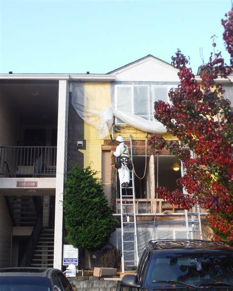 commercial paint contractor lead paint removal portland