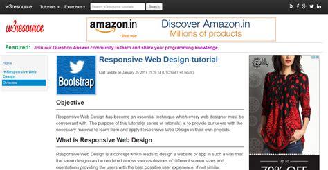 responsive web design tutorial 20 amazing tutorials for a responsive web design