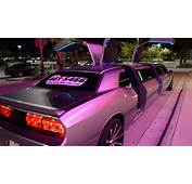 New Dodge Challenger Limo Clean Ride Drive Doors