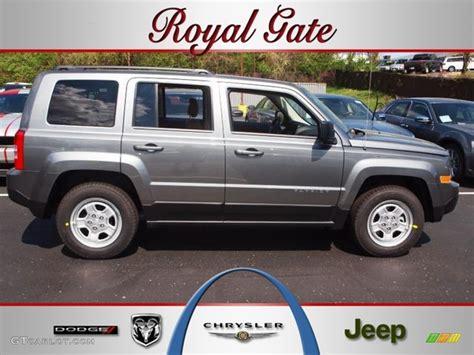 jeep gray color 2012 mineral gray metallic jeep patriot sport 62663607