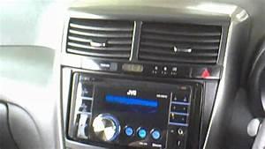 Jvc Double Din Head Unit Into New Toyota Caldina Wagon