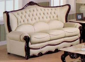 Exquisite, Victorian, Style, Leather, Sofas