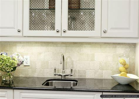 ivory glass tile backsplash 6 antiqued ivory subway backsplash tile idea