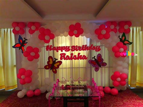 top  simple balloon decorations  birthday party