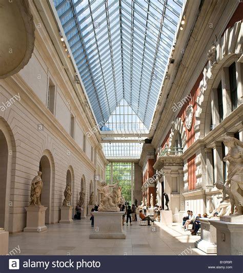 european sculpture gallery metropolitan museum of new york stock photo royalty free image