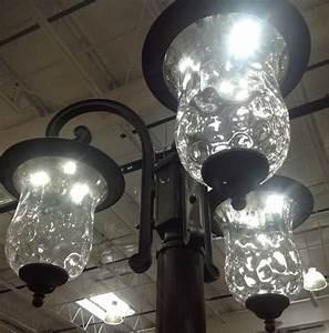 Innova lighting 3 light outdoor led lamp post lantern yard for Innova lighting led 3 light outdoor lamp post parts