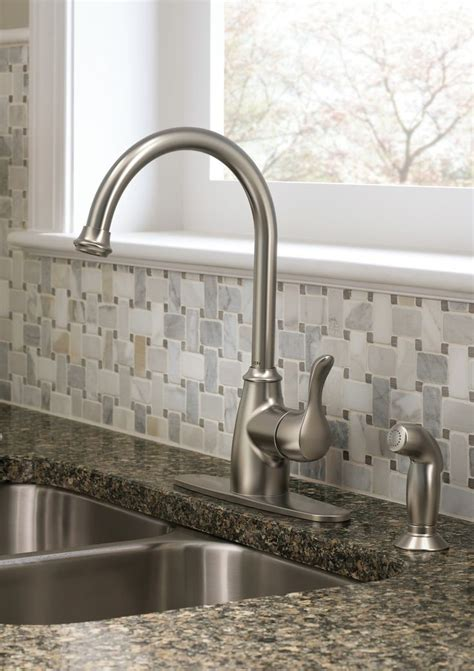 kitchen faucets for granite countertops 1000 images about kitchen sink ideas on blue