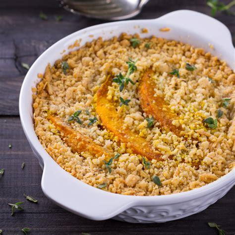 comment cuisiner quinoa crumble de potimarron au quinoa sans gluten valpiform