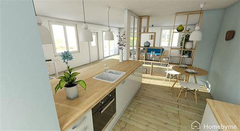plan cuisine ouverte sur salon pretty plan cuisine ouverte photos gt gt magasin de meuble