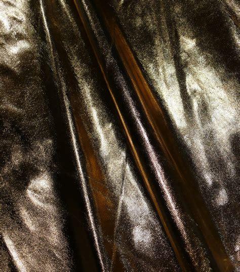 metallic fabric tricot lame gold black jo ann