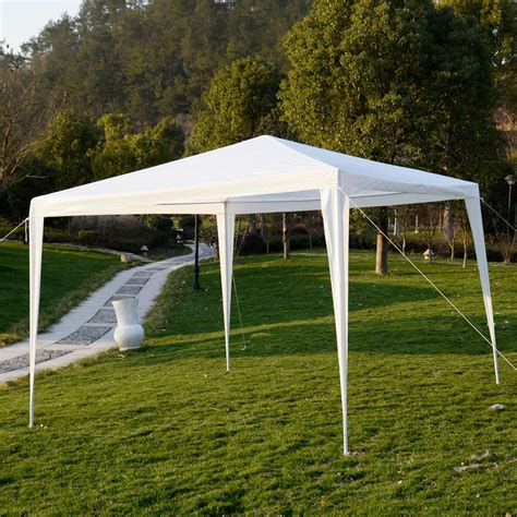 Outdoor Canopy by 10 X10 Outdoor Canopy Wedding Tent Garden Gazebo