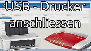 Pc Mit Lan Verbinden : fritzbox usb drucker anschliessen und im netzwerk einrichten youtube ~ Orissabook.com Haus und Dekorationen