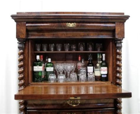 19th Century Mahogany Drinks Cabinet Closetmaid Drawer Kit Best Microwave Drawers Reviews 12 Soft Close Slides Oak Floating Shelf With Perlick Refrigerator How To Build Under Bed Storage 1960s Chest Of Mainstays Kids Large 3 Wide Cart