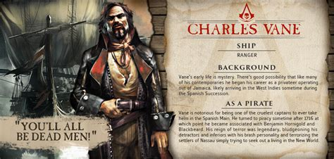 assassins creed iv black flag character details
