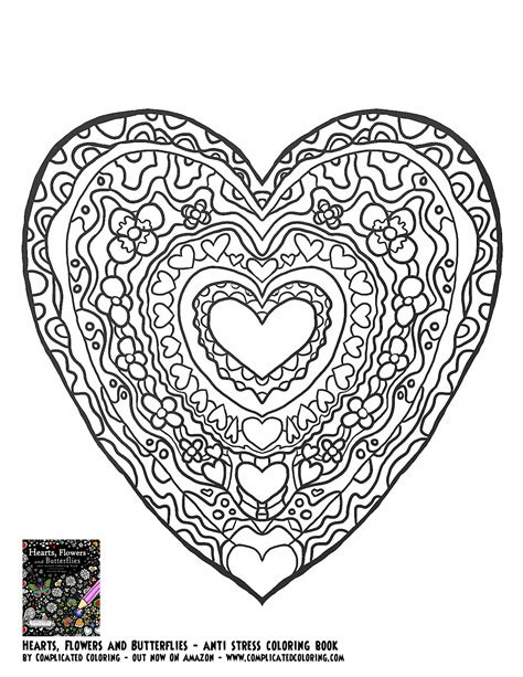 complicated flower coloring pages coloring home