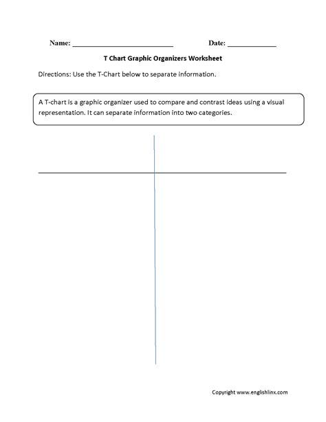 t chart worksheet resultinfos