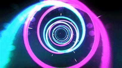 80s Vj Neon Loop Tunnel Creative Loops