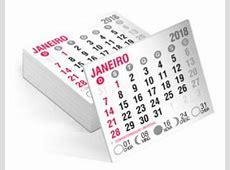 50 Mini Calendário 2018 Para Personalizar Imã Geladeira