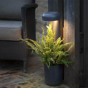 Lampe D Extérieur : lampe poser d 39 ext rieur jardini re grow noir h50cm led faro luminaires nedgis ~ Teatrodelosmanantiales.com Idées de Décoration