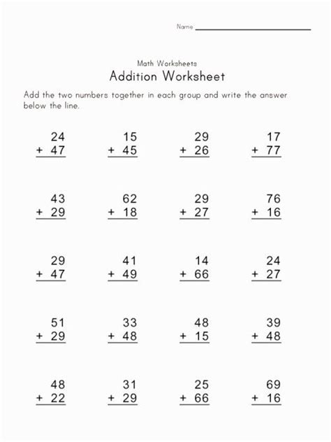 touch math digit addition pdf free printable touch math addition