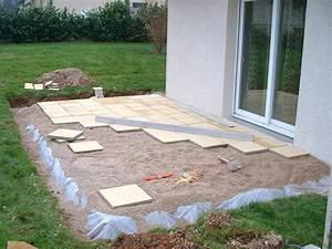 Pose Dalle Beton Sur Sable : poseur de terrasse en composite aivq ~ Nature-et-papiers.com Idées de Décoration