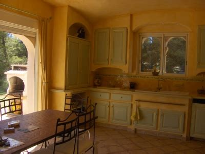 amenagement cuisine provencale décoration cuisine provençale