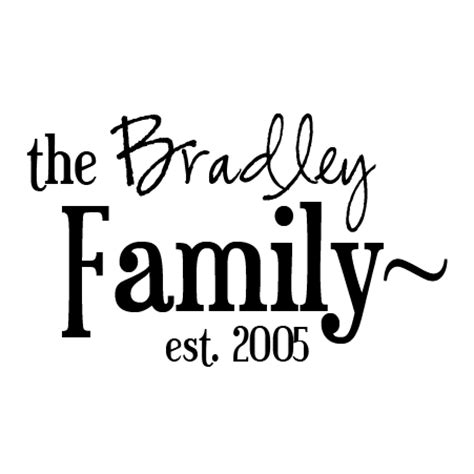 bradley family  design wall quotes decal wallquotescom