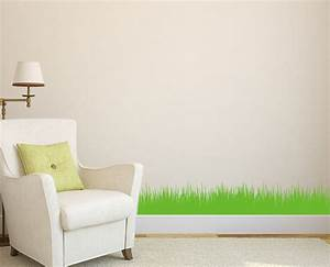 wall grass art diy home wall sticker wall decal With wall decals for home