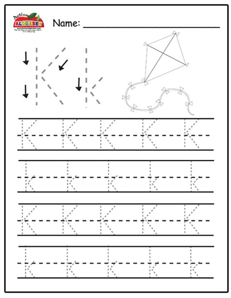 letter k tracing letter k activities preschool lesson plans