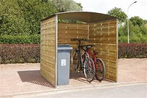 Abri Moto Bois : abri multi usages pour 2 roues ou poubelles seton fr ~ Melissatoandfro.com Idées de Décoration