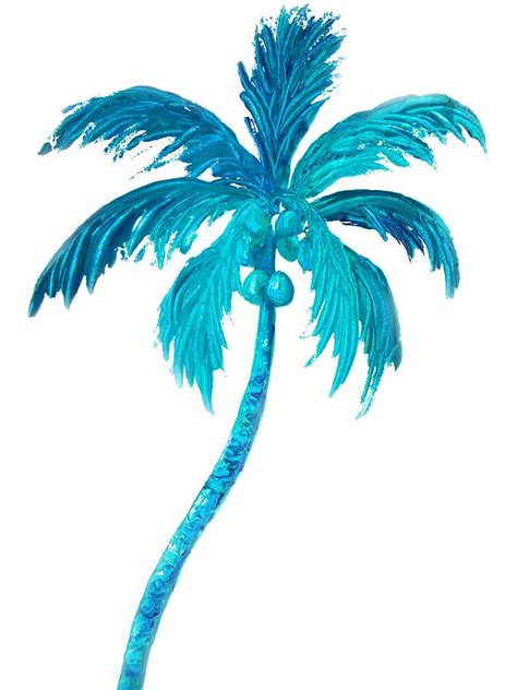 coconut palm tree painting by jan matson