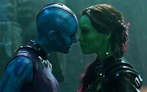 GUARDIANS OF THE GALAXY - Nebula Vs Gamora Deleted Scene ...